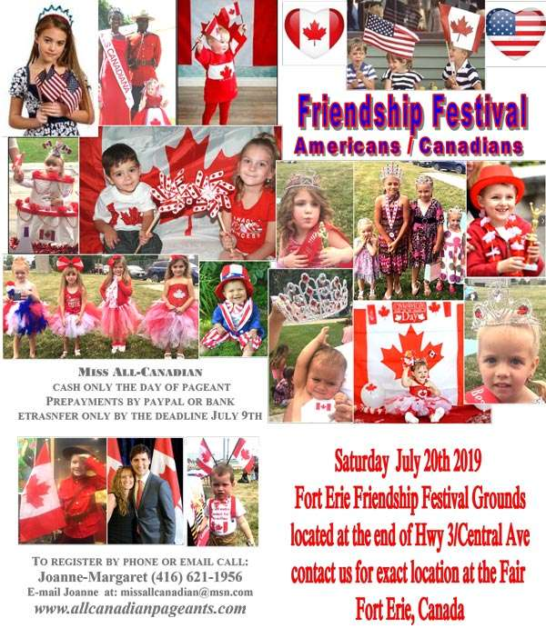 Miss All Canadian Pageants - Friendship Festival Pageant, Fort Erie