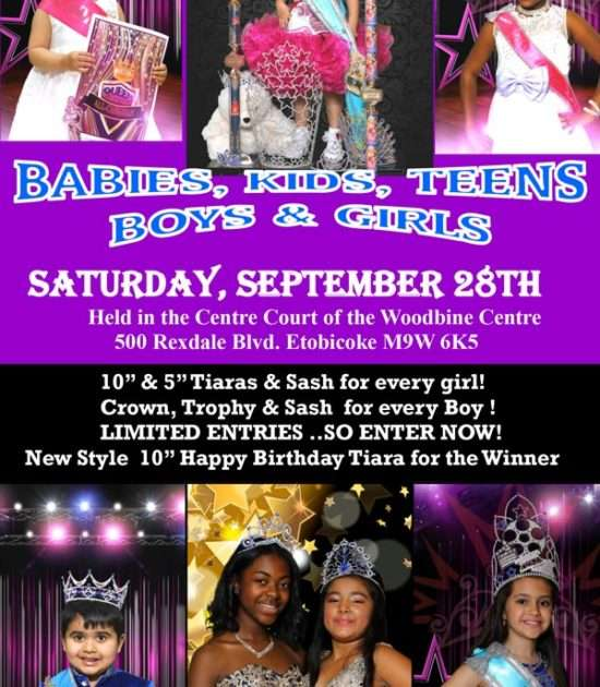 Miss All Canadian Pageants - Canadian Babies, Children, Teens Pageant