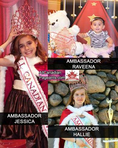 Miss All Canadian Pageants Ambassodor